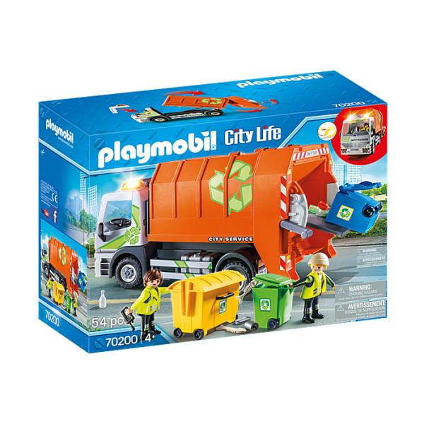 Camion de reciclat playmobil city life