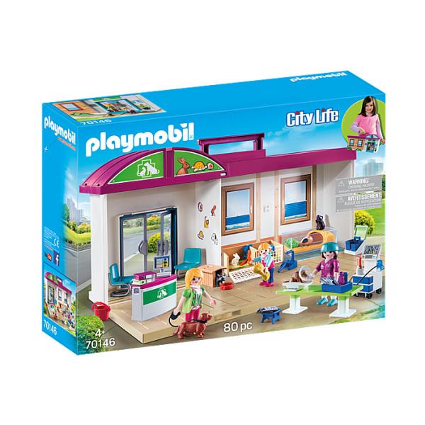 Clinica veterinara mobila playmobil city life