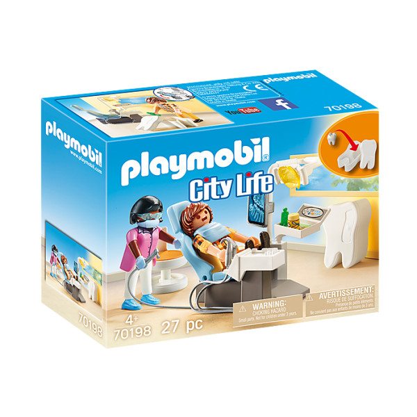 Cabinet stomatologic playmobil city life