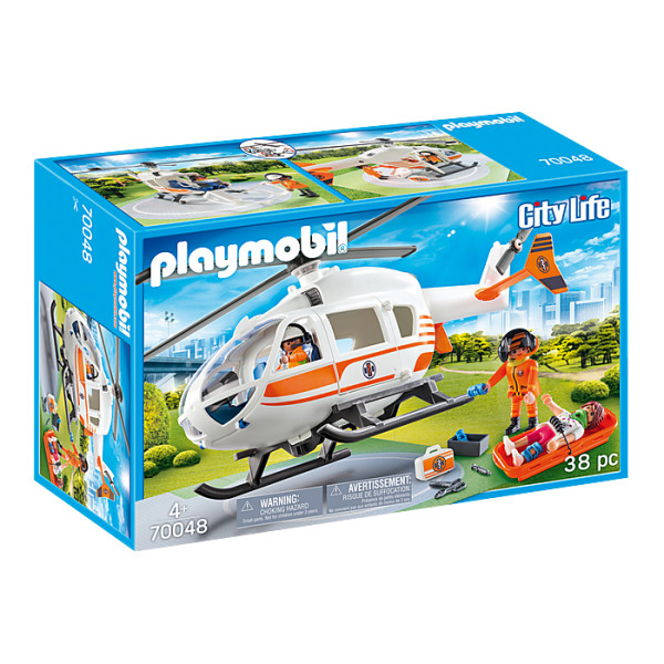 Elicopter de salvare playmobil city life