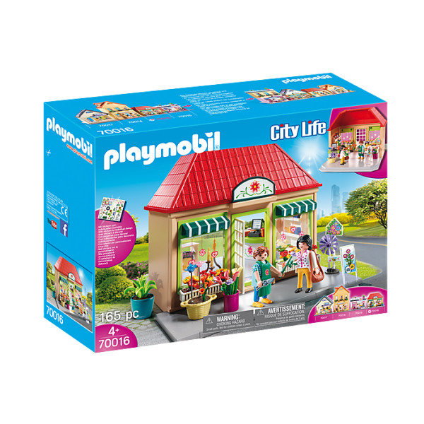 Florarie playmobil city life