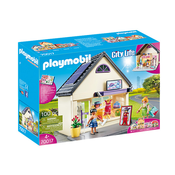 Magazin de haine playmobil city life