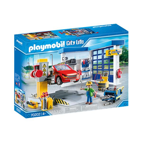 Service auto playmobil city life