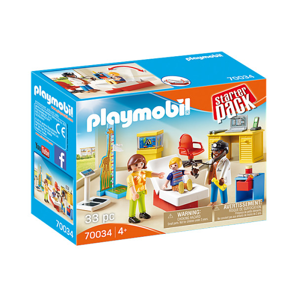 Cabinetul pediatrului playmobil city life