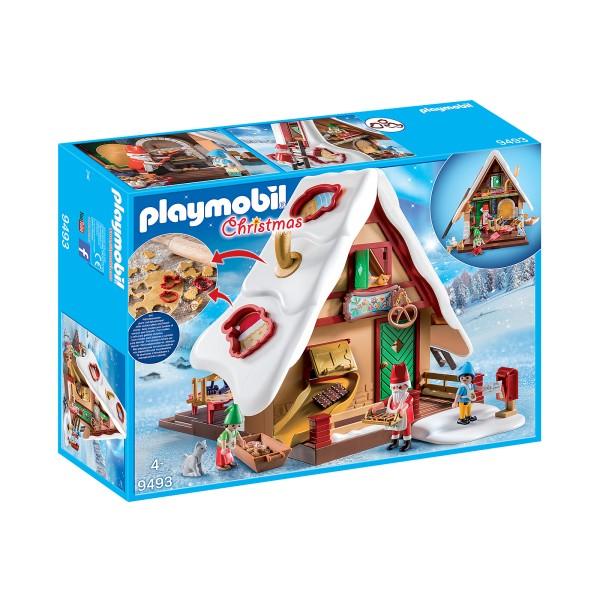 Cofetaria mosului si forme de biscuiti playmobil christmas