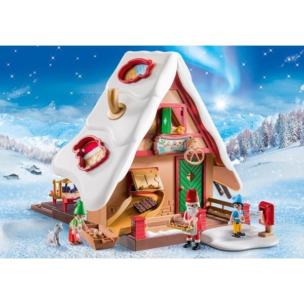 Cofetaria mosului si forme de biscuiti playmobil christmas - 1