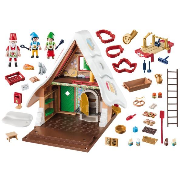 Cofetaria mosului si forme de biscuiti playmobil christmas - 2