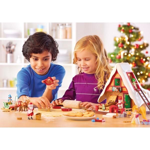 Cofetaria mosului si forme de biscuiti playmobil christmas - 3
