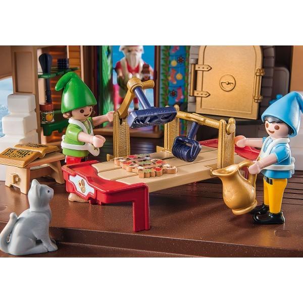 Cofetaria mosului si forme de biscuiti playmobil christmas - 4