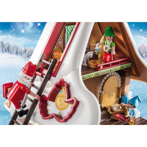 Cofetaria mosului si forme de biscuiti playmobil christmas - 5