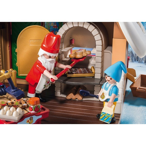 Cofetaria mosului si forme de biscuiti playmobil christmas - 6