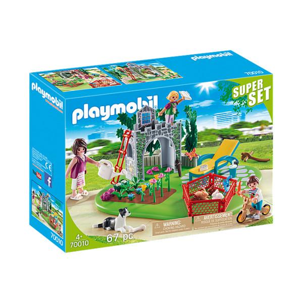 Gradina familiei super set playmobil country