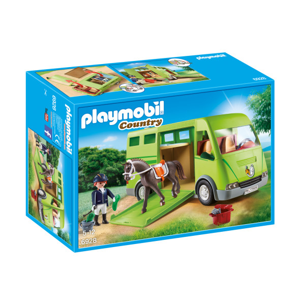Transportor de cai playmobil country - 0