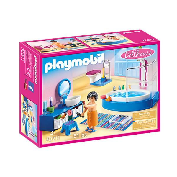 Baia familiei playmobil doll house