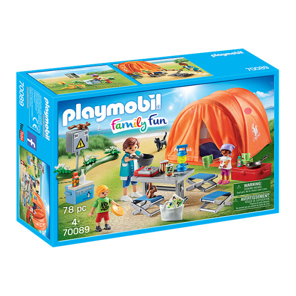 Cort camping playmobil family fun