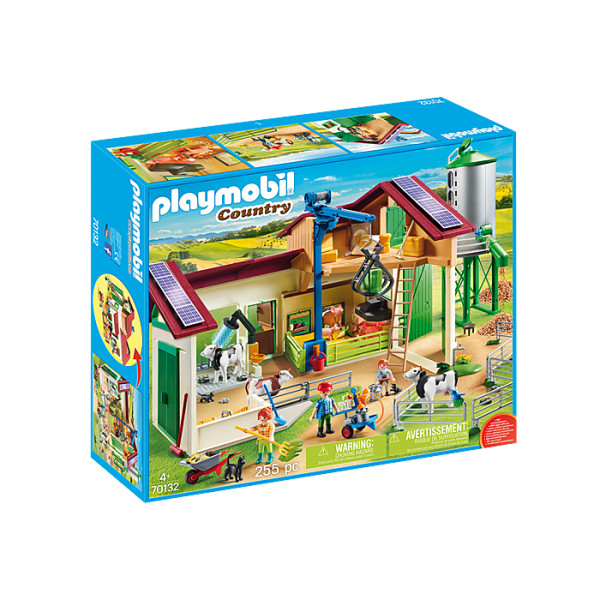 Ferma mare cu siloz playmobil country