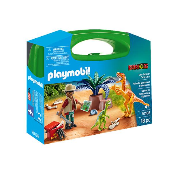 Set portabil dinozauri playmobil dinos