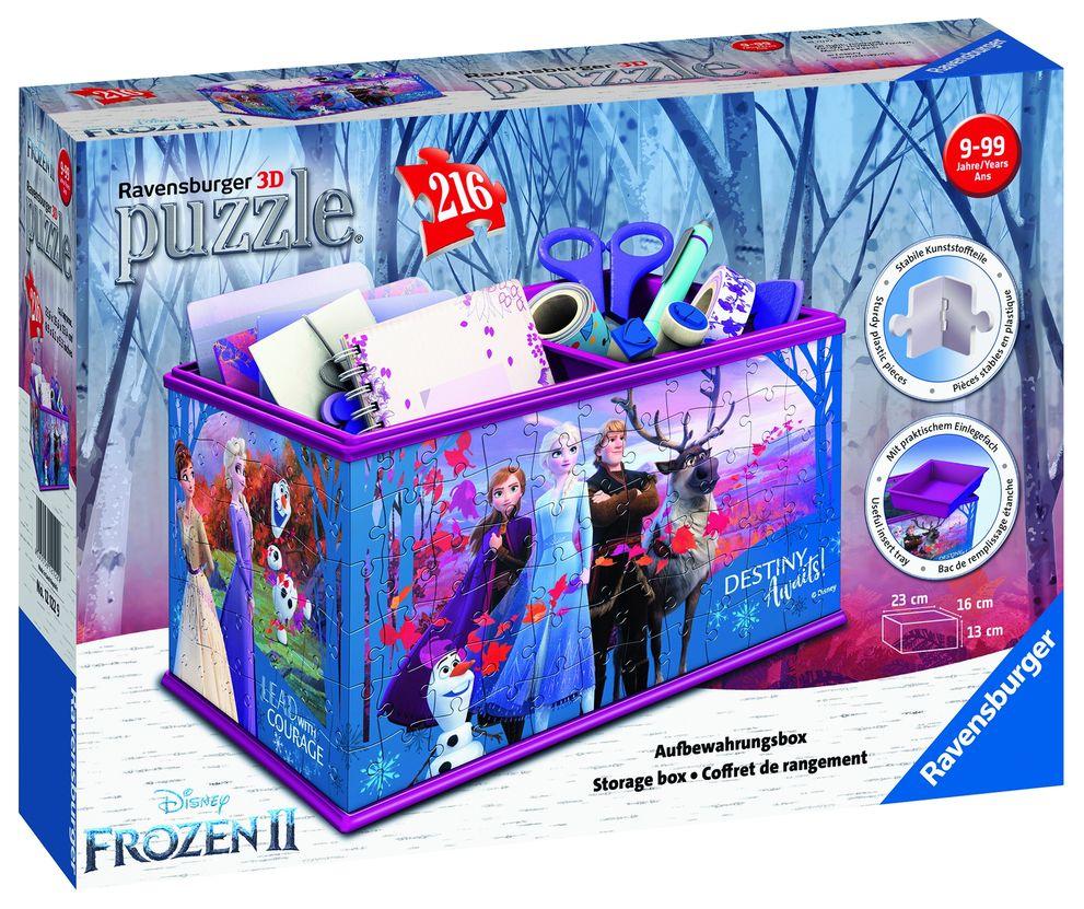 Puzzle 3d cutie depozitat frozen 216 piese ravensburger imagine