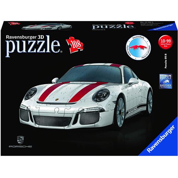 Puzzle 3d porsche 911r 108 piese ravensburger imagine