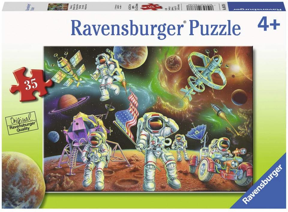 Puzzle astronauti 35 piese ravensburger