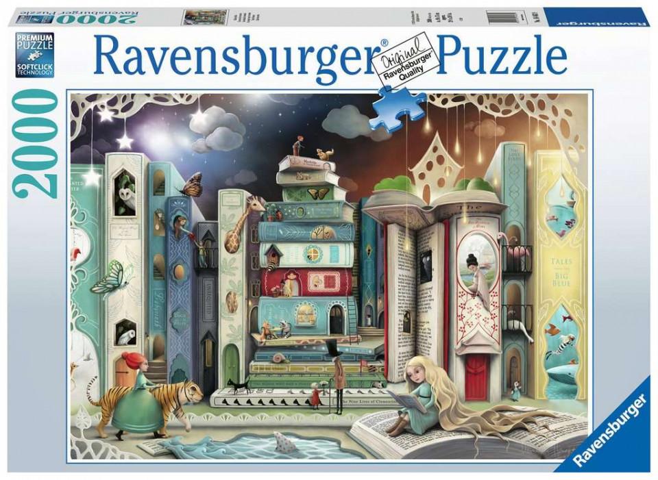 Puzzle adulti bulevard 2000 piese ravensburger imagine