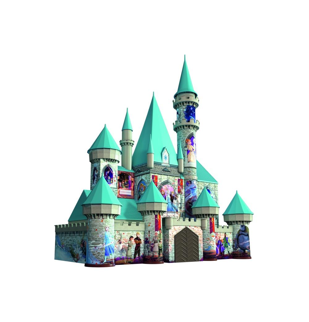 Puzzle 3d castel 216 piese ravensburger imagine