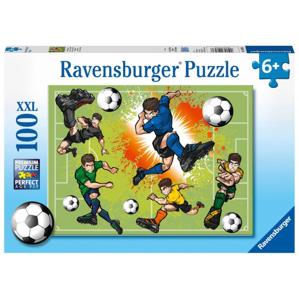 Puzzle fotbalisti 100 piese ravensburger