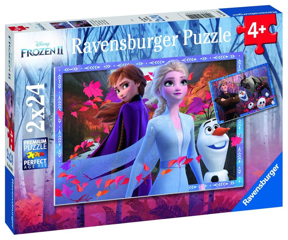 Puzzle frozen ii 2x24 piese ravensburger