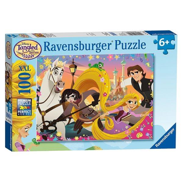 Puzzle rapunzel 100 piese fetite ravensburger