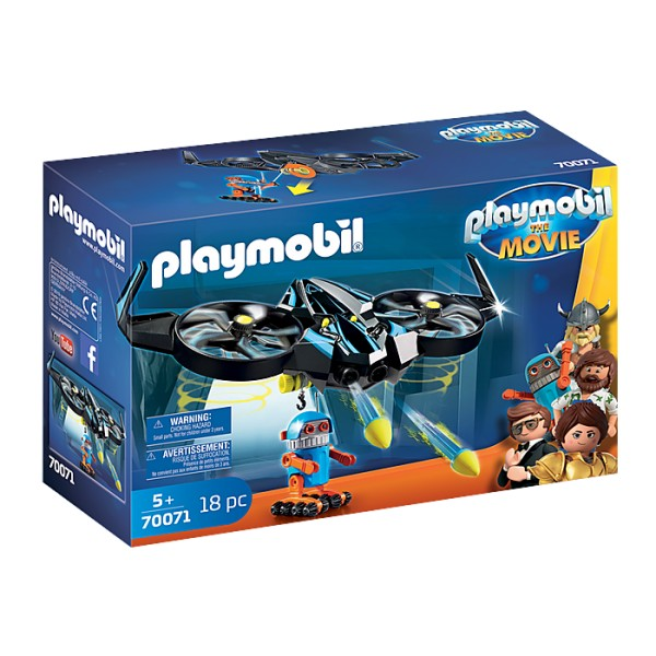 Robitron cu drona playmobil movie