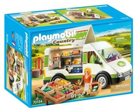 Rulota cu legume playmobil country
