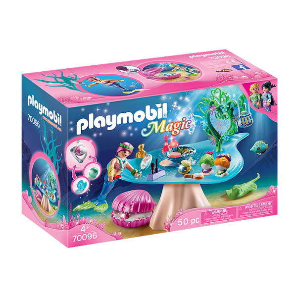 Salon de infrumusetare sirene playmobil magic