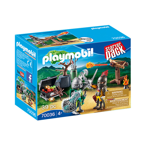 Cavaleri si comoara playmobil family fun