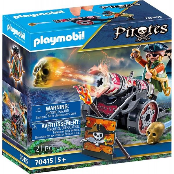 Pirat cu tun playmobil pirates