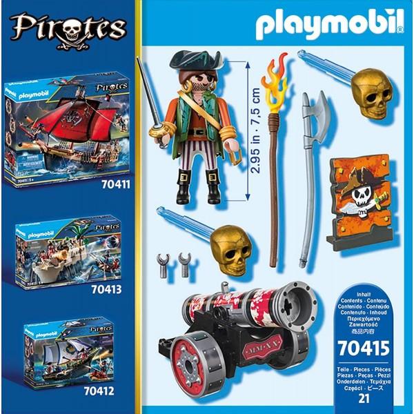 Pirat cu tun playmobil pirates - 2