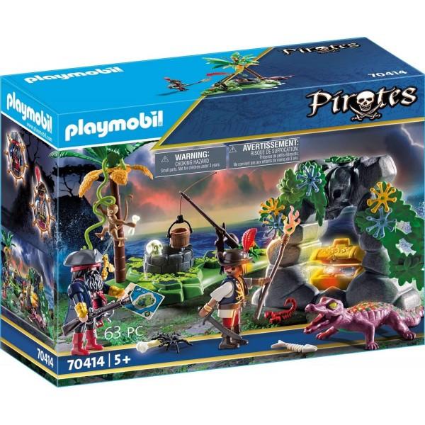 Ascunzatoarea piratilor playmobil pirates