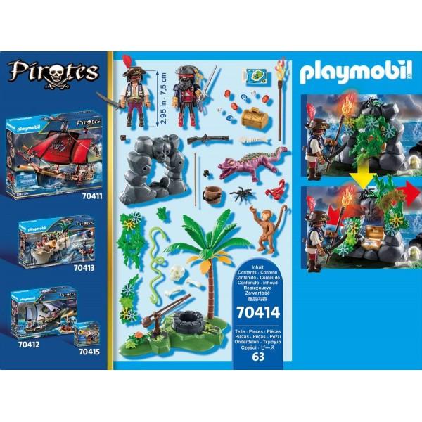 Ascunzatoarea piratilor playmobil pirates - 2