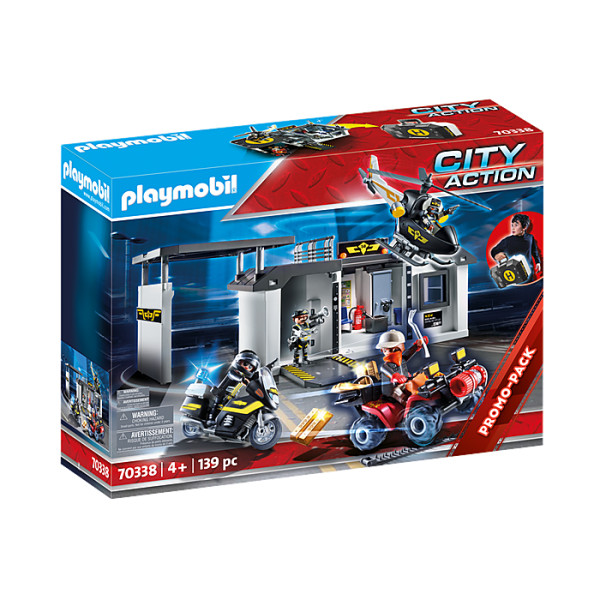 Sectia echipei swat playmobil city action