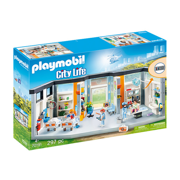 Salon spital mobilat playmobil city life