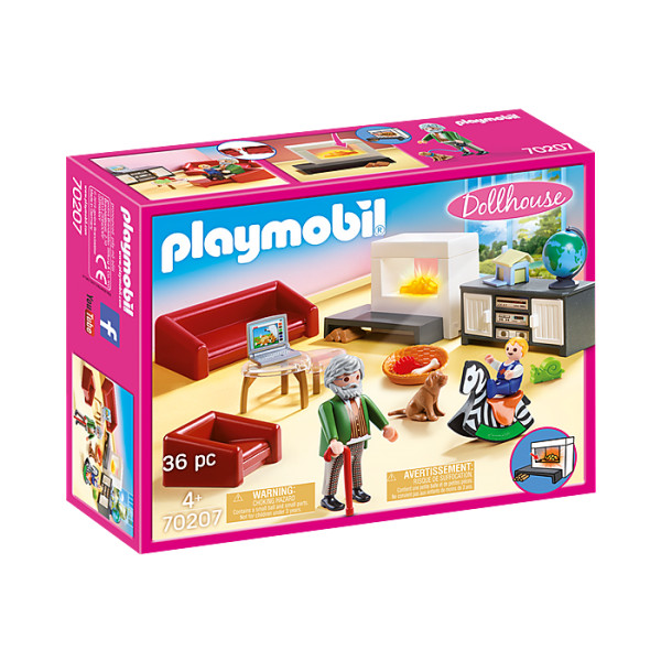 Sufrageria familiei playmobil doll house