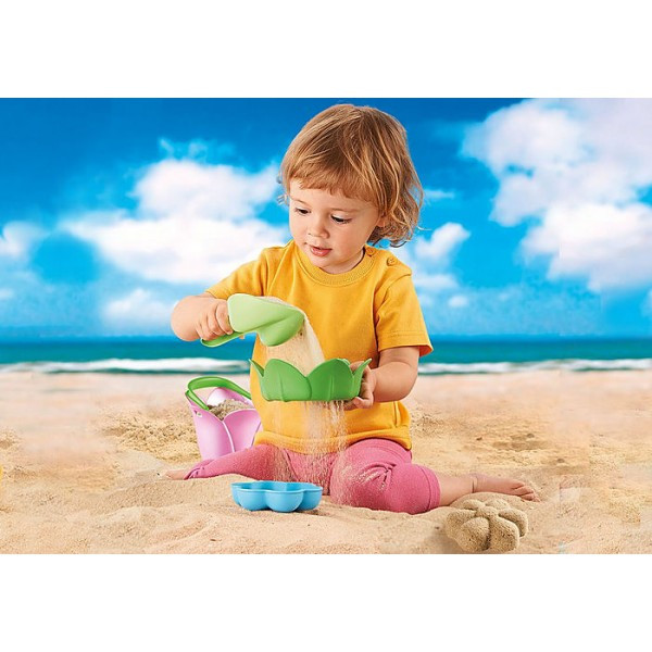 Galetusa floare playmobil sand - 1