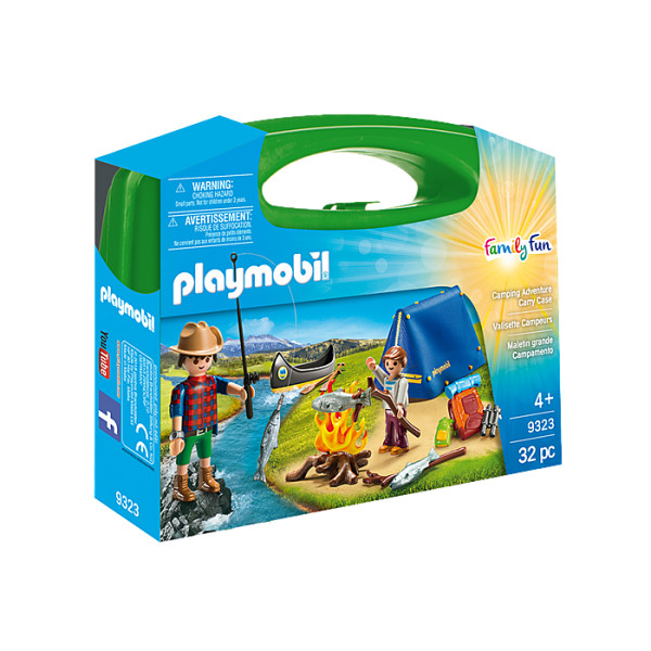 Set portabil camping playmobil family fun