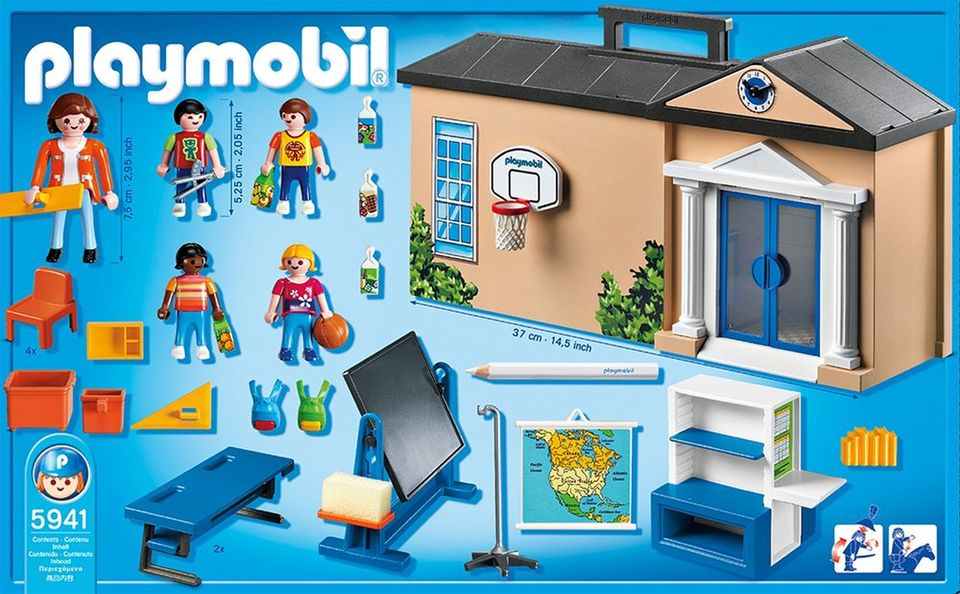Set mobil scoala playmobil city life - 1