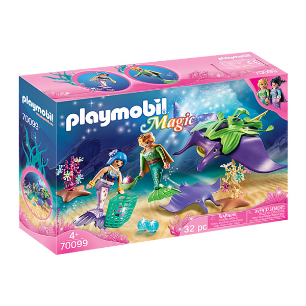 Sirene si pisica de mare playmobil magic