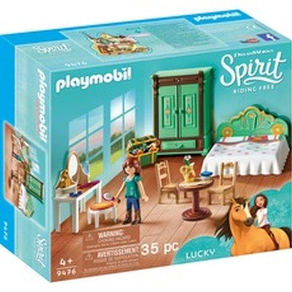 Dormitorul lui lucky playmobil spirit