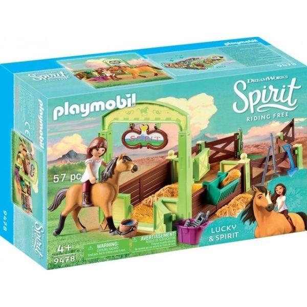 Spatiu ingrijire cai lucky playmobil spirit