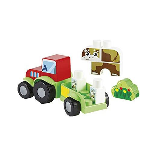 Set tractoras cu vacuta ecoiffier imagine