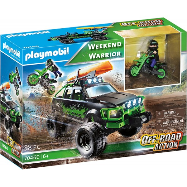 Vehicule off road playmobil sports action