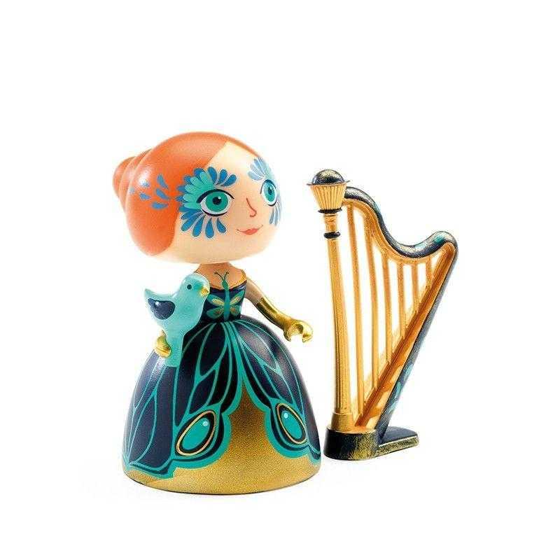 Printesa elisa cu harpa djeco