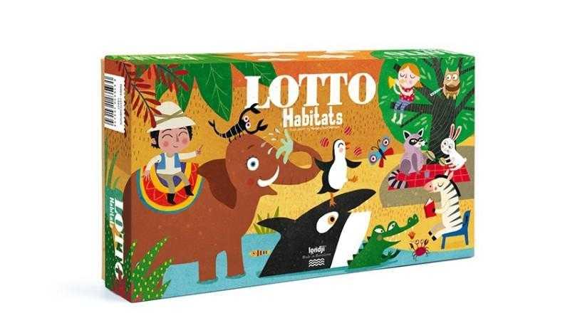 Joc de asociere loto habitat londji